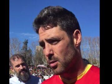 Jaime Navas, capitán de la selección española de rugby