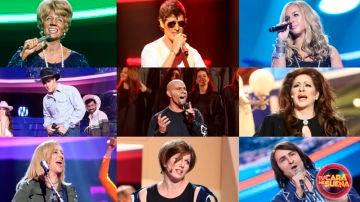 Ranking de la primera semifinal de la sexta edición de 'Tu cara me suena'