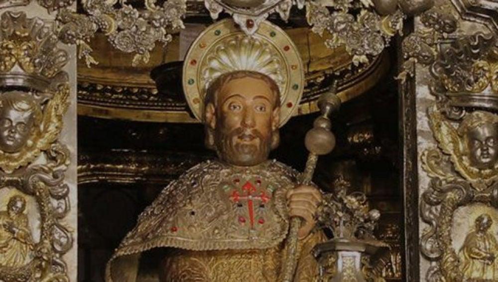 imagen del apostol Santiago