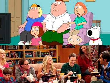 'The Big Bang Theory' y 'Padre de familia'