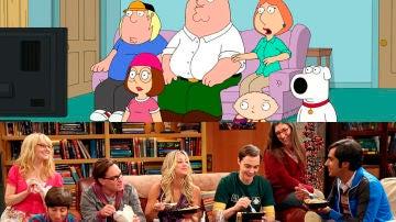 'The Big Bang Theory' y 'Padre de familia'