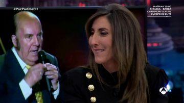 Paz Padilla se emociona al recordar a su amigo Chiquito de la Calzada