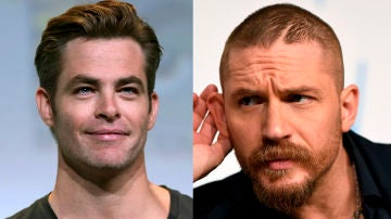 Chris Pine y Tom Hardy