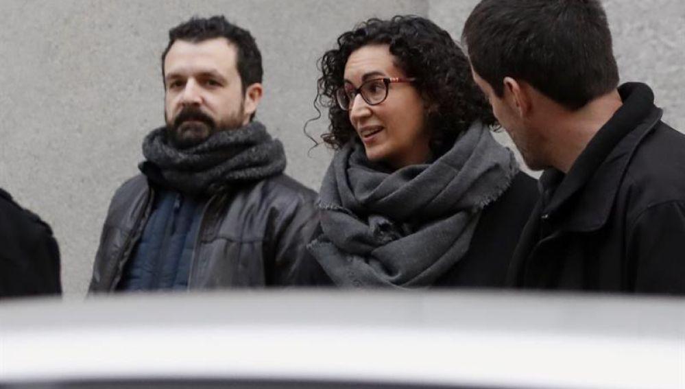 Marta Rovira en el Supremo
