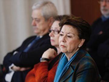 La exconsejera de Economía y Hacienda y exministra de Fomento Magdalena Álvarez