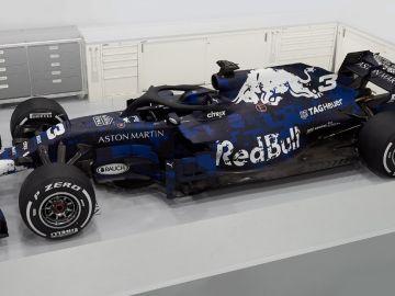 El RB14, el nuevo monoplaza de Red Bull para 2018