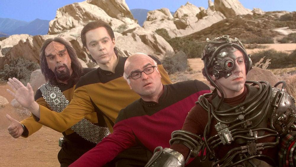'The Big Bang Theory' guiño a 'Star Trek'