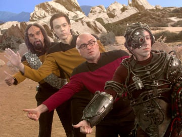 'The Big Bang Theory' guiño a 'Star Trek'