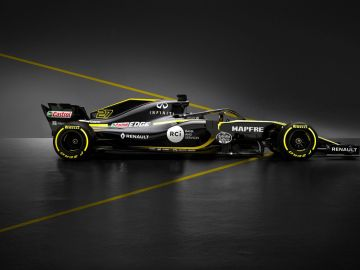 El Renault de la temporada 2018, el RS18