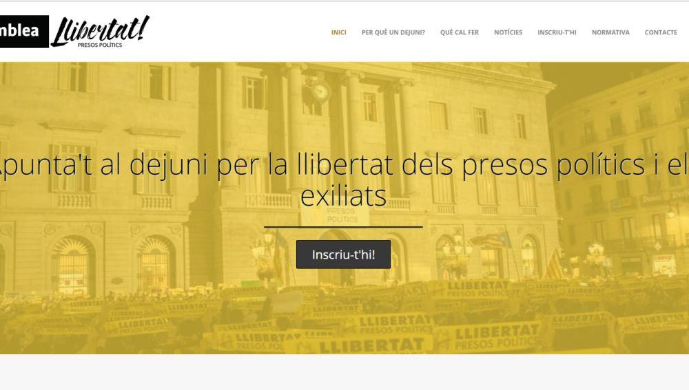 Web de la ANC para inscribirse