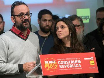 """Benet Salellas, abogado de Anna Gabriel: """"No ha huido, ha buscado refugio"""""""