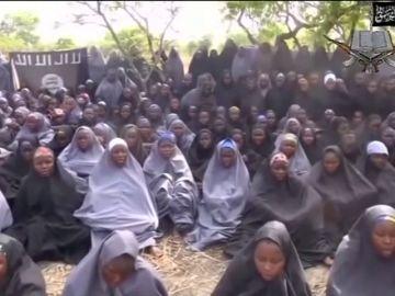 Niñas secuestradas por Boko Haram en Nigeria (Archivo)