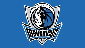 El escudo de los Dallas Mavericks