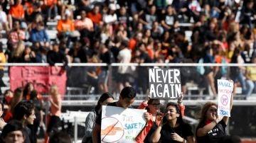 Los estudiantes reclaman más control sobre las armas