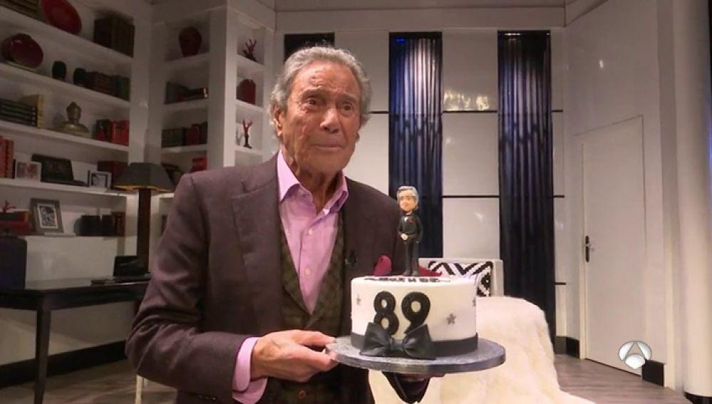 Arturo Fernández cumple 65 años sobre los escenarios con la obra 'Alta seducción'