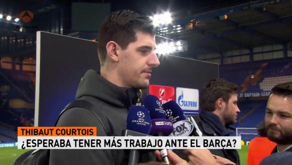 """Courtois: """"Si hacemos un gol en el Camp Nou todo es posible"""""""
