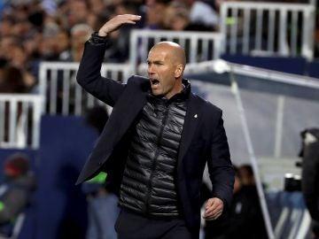 Zidane, en Butarque