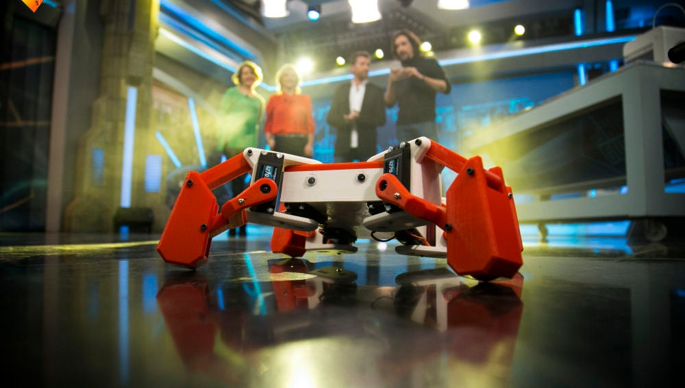 Kame, el robot impreso en 3D capaz de bailar breakdance