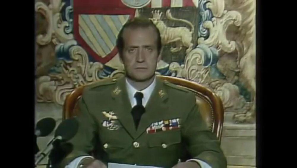 El discurso íntegro del rey Juan Carlos a los españoles tras el fallido golpe de Estado de Tejero el 23F