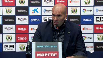 """Zidane, sobre la suplencia de Bale: """"Hay que ir poco a poco con él, queremos su mejor nivel"""""""