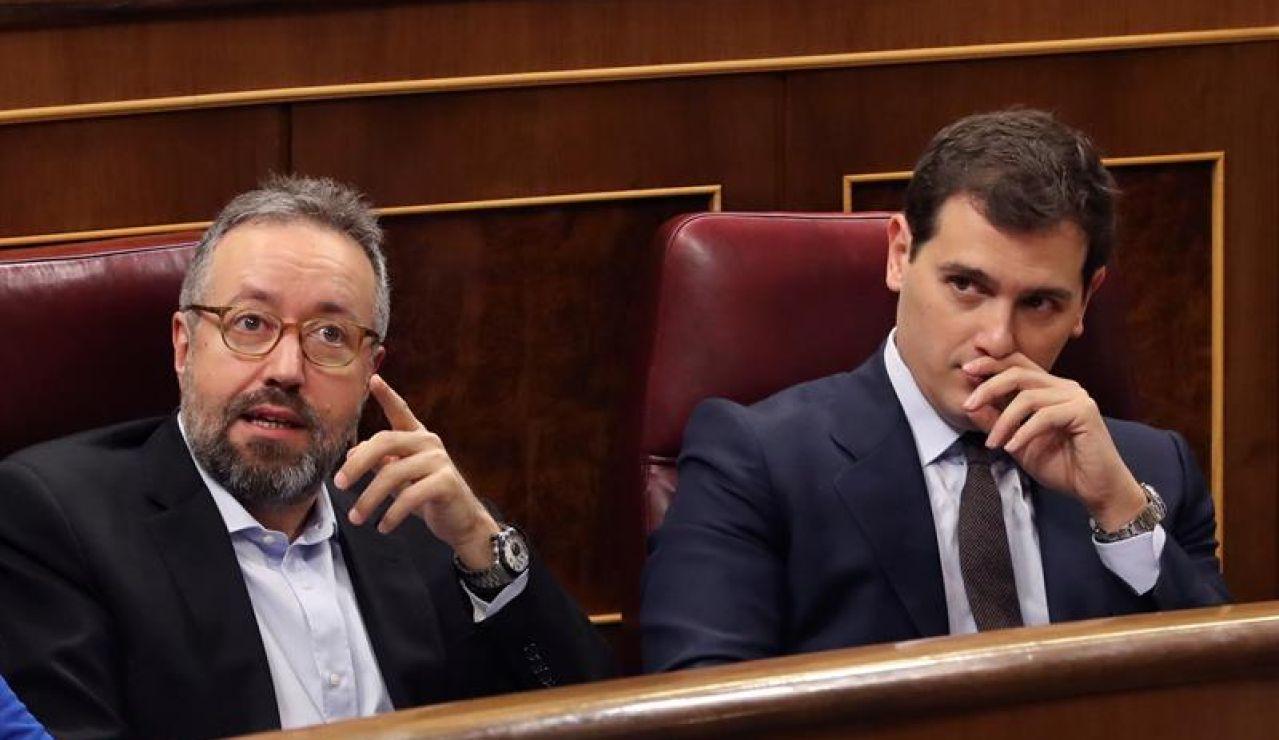 Albert Rivera y Juan Carlos Girauta