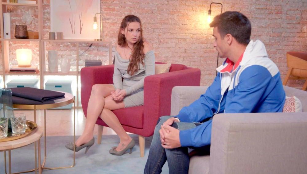 Tamara y Álvaro, cara a cara, toman la decisión definitiva de su matrimonio