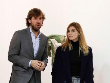 Amaia Salamanca y Rosauro Varo en la feria de ARCO