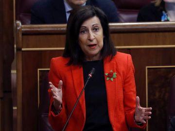 La portavoz del PSOE en el Congreso, Margarita Robles
