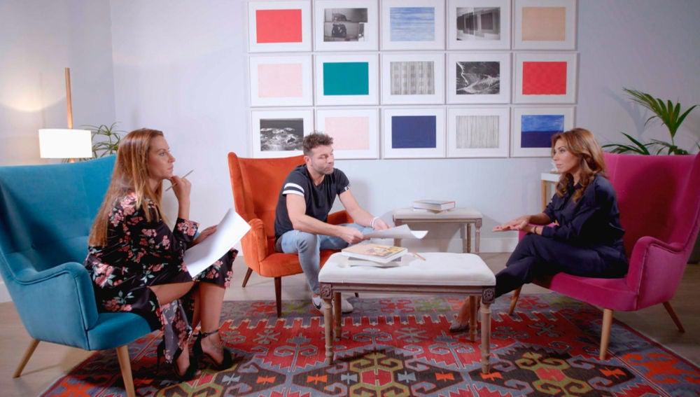 Noelia y Raúl piden ayuda a la psicóloga, Silvia Sanz, para solucionar los problemas de matrimonio