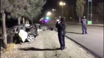 Mueren cinco niños en un accidente de tráfico, el conductor era un menor
