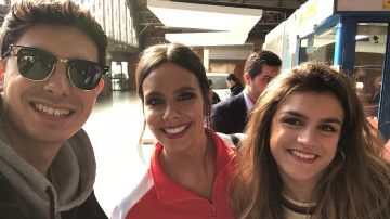 Cristina Pedroche se encuentra con Alfred y Amaia