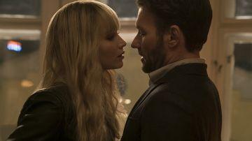 Jennifer Lawrence y Joel Edgerton en 'Gorrión Rojo'