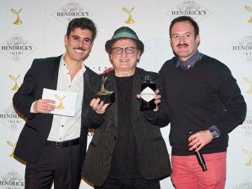 Javier Gurruchaga, Yago de Honor, junto a Luis Fabra y Álex O'Dogerthy
