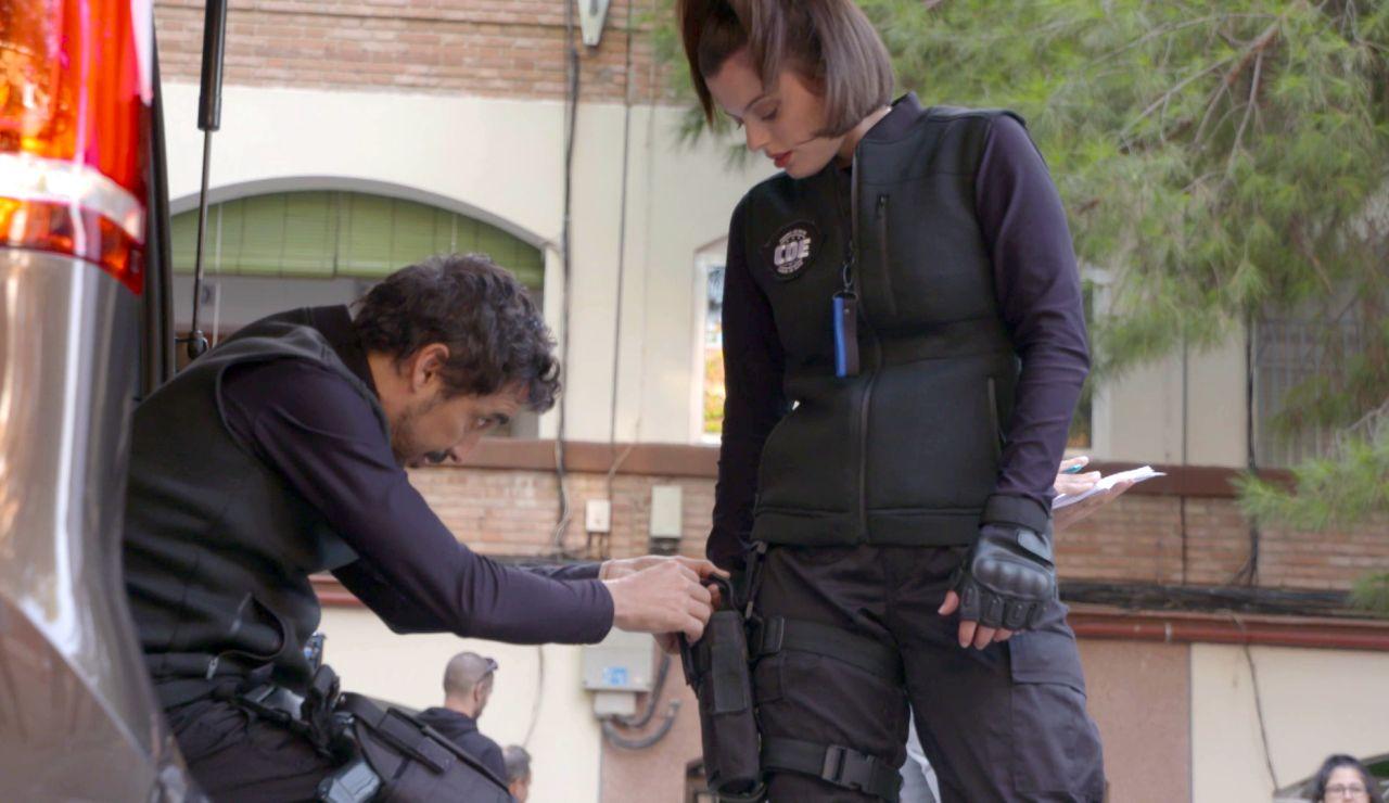 Así se grabó el rescate del 'Cuerpo de Élite' a Loli