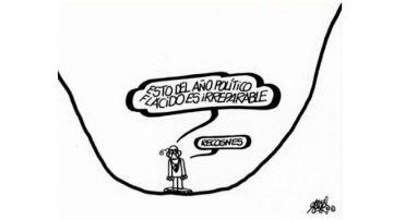 La última viñeta de Antonio Fraguas 'Forges' publicada en 'El País'