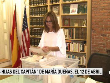 La nueva novela de María Dueñas se llamará 'Las hijas del Capitán' y saldrá a la venta el 12 de abril