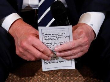 Las notas de Trump