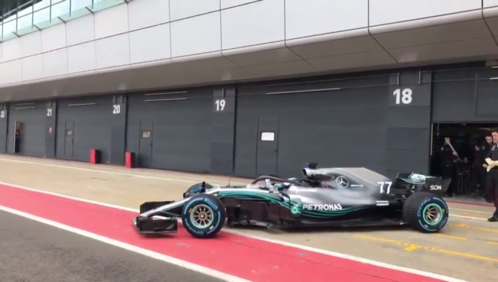 VÍDEO: Así es el nuevo Mercedes W09 de Hamilton y Bottas