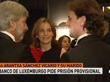 El Banco de Luxemburgo pide prisión provisional para Arantxa Sánchez Vicario y su marido