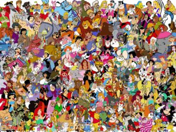 Encuentra a las princesas Disney
