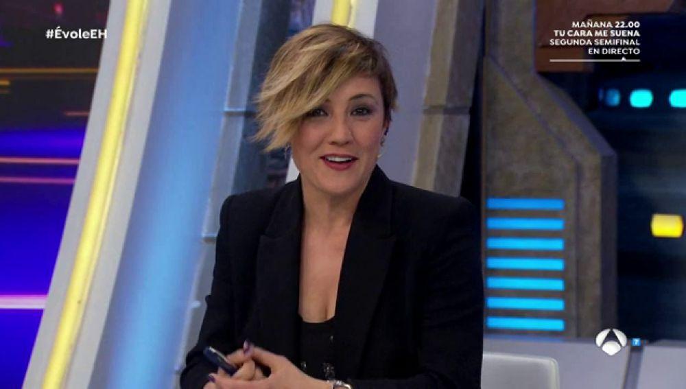 Cristina Pardo muestra en 'El Hormiguero 3.0' el ranking de entrevistas míticas de Jordi Évole en 'Salvados'