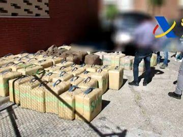 La Policía Nacional incauta 8 toneladas de hachís