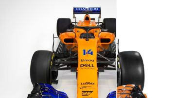Compara el nuevo McLaren con el de 2017