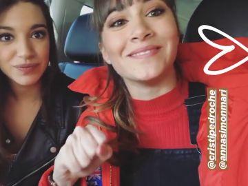 El mensaje de Ana Guerra y Aitana Ocaña para Cristina Pedroche y Ana Simón