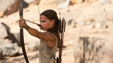 Alicia Vikander en 'Tomb Raider'