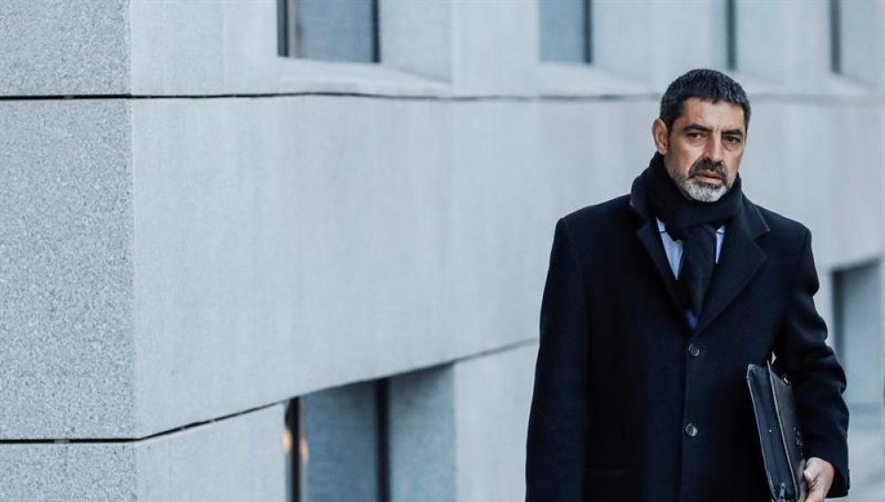 El exmayor de los Mossos d'Esquadra, Josep Lluis Trapero