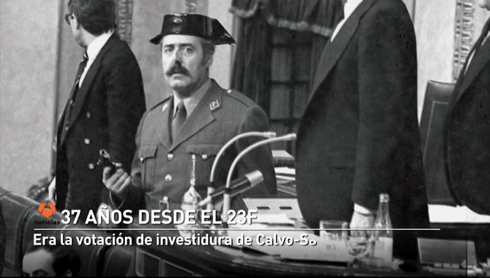 23F: España vivía un intento fallido de golpe de Estado hace 37 años