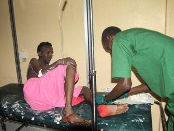 Uno de los heridos en el atentado de Mogadiscio