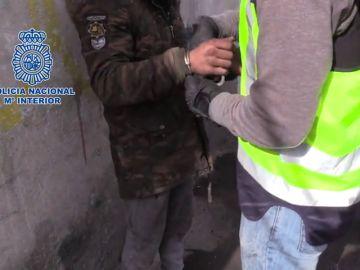 Detenido de nuevo el asesino de Sandra Palo en el marco de una macrooperación contra el robo de vehículos en Madrid