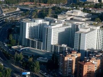 Vista general del hospital Ramón y Cajal, en Madrid.